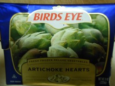 BIRDS EYE ARTICHOKE HEARTS