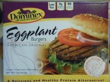 DOMINEX EGGPLANT BURGERS