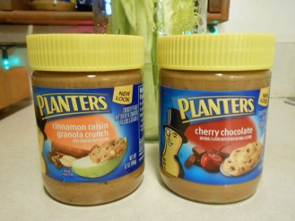 PLANTER'S FLAVORED PEANUT BUTTER