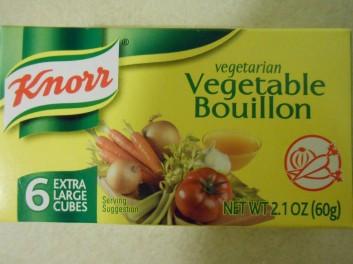 knorr vegetable bouillon