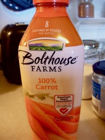 BOLTHOUSE FARMS CARROT JUICE