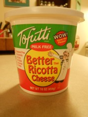 TOFUTTI BETTER THAN RICOTTA