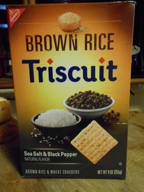 triscuit brown rice cracker