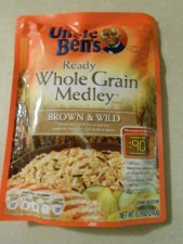 uncle ben's ready rice - whole grain