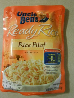 uncle ben's ready rice - rice pilaf