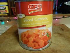 GFS SLICED CARROTS