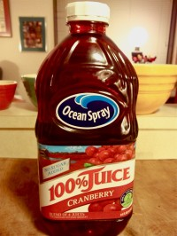 OCEANSPRAY CRANBERRY JUICE