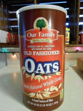 OUR FAMILY OATS