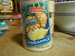 OUR FAMILY PINEAPPLE CHUNKS