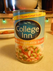 COLLEGE INN VEGETABLE BROTH