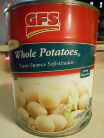 GFS WHOLE POTATOES