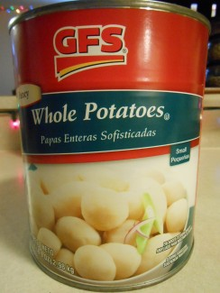 GFS WHOLE POTATOES