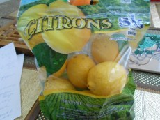 CITRON'S FRESH LEMONS