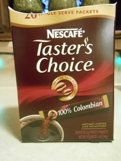 TASTER'S CHOICE COLUMBIAN