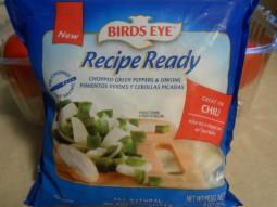 BIRD'S EYE frozen pepper and onions
