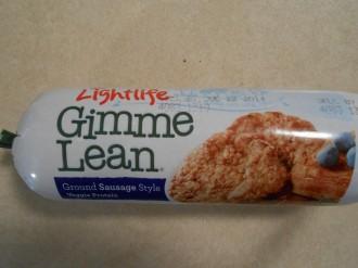 GIMME LEAN VEGGIE SAUSAGE TUBE