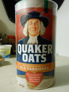 OLD FASHIONED QUAKER OATS