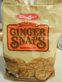 STAUFFER'S GINGER SNAPS