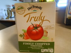 TRULY BY DEI FRATELLI FINELY CHOPPED TOMATOES