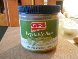 GFS VEGETABLE BASE FOR SOUPS AND SAUCES