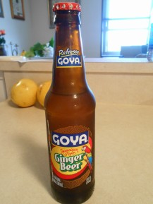 GOYA GINGER BEER