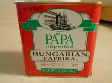 PAPA HUNGARIAN PAPRIKA