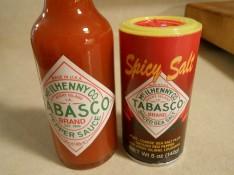 TOBASCAO SAUCE AND SALT