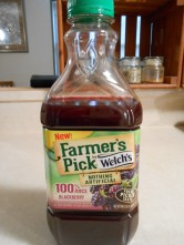 WELCH'S BLACKBERRY JUICE FARMER'S PICK