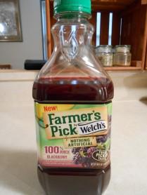WELCH'S BLACKBERRY JUICE FARMER'S PICK