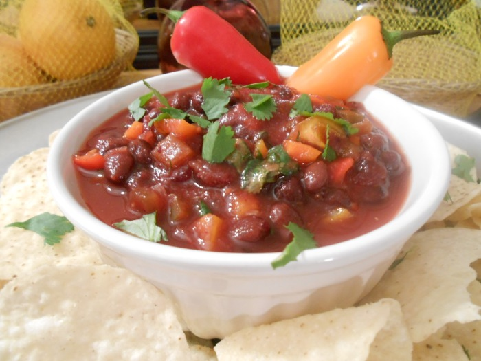 CRANBERRY BLACK BEAN SALSA 3