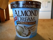 ALMOND DREAM CAPPUCCINO SWIRL NONDAIRY ICECREAM