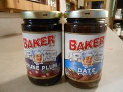 BAKER PRUNE PLUM DATE DESSERT FILLING