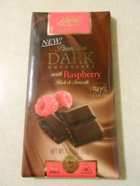 BARON DARK CHOCOLATE RASPBERRY BAR