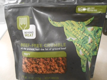 BEYOND MEAT BEEF-FREE CRUMBLE