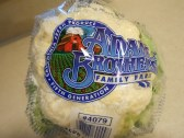 CAULIFOWER ADAM BROTHERS FAMILY FARM