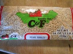 C&F FOODS INC. PEARL BARLEY