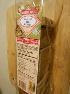 COCKTAIL RYE BREAD