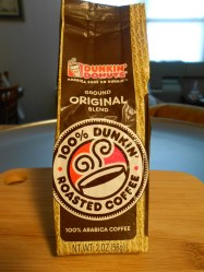 DUNKIN' DONUT ARABICA COFFEE