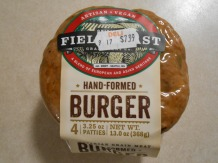 FIELD ROAST HAND-FORMED BURGER