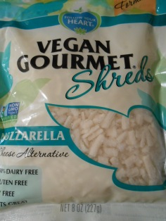 FOLLOW YOUR HEART VEGAN GOURMET MOZARELLA SHREDS