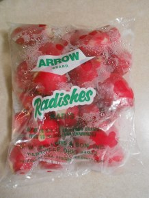 FRESH RADISHES ARROW BRAND