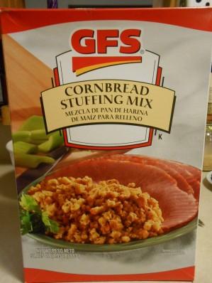 GFS CORNBREAD STUFFING MIX