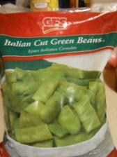 GFS FROZEN ITALIAN GREEN BEANS