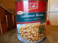 GFS GARBONZO BEANS FANCY