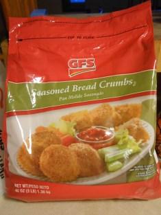 GFS SEASONED BREAD CRUMBS