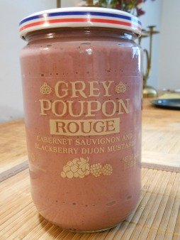GREY POUPON ROUGE