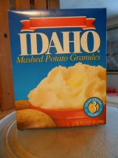 IDAHO INSTANT MASHED POTATO GRANULES