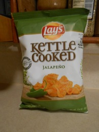 LAY'S KETTLE COOKED JALAPENO CHIPS