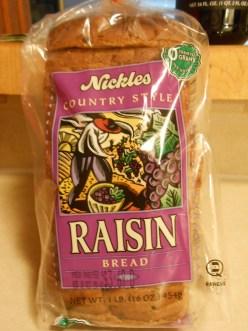 NICKLES RAISIN BREAD