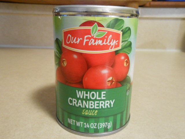 OUR FAMILY WHOLE CRANBERRIES